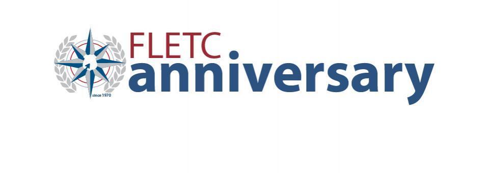 FLETC 48th Anniversary Banner
