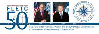 FLETC 50th Anniversary Video Banner