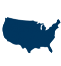 Map icon of the United States